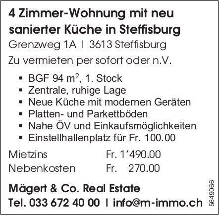 4 Zimmer-Wohnung, Steffisburg, zu vermieten