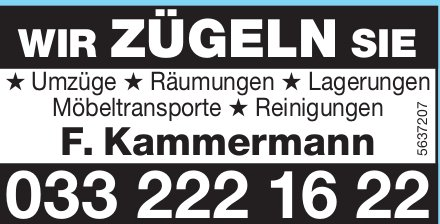 Kammermann Zügelservice