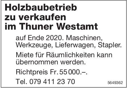 Holzbaubetrieb zu verkaufen in Thun