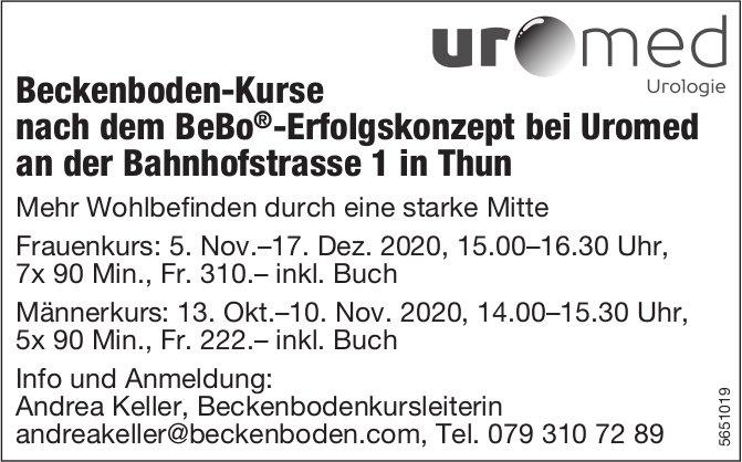 Uromed, Thun - Beckenboden-Kurse nach dem BeBo-Erfolgskonzept
