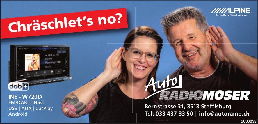 Auto RadioMoser, Steffisburg - Chräschlet's no?