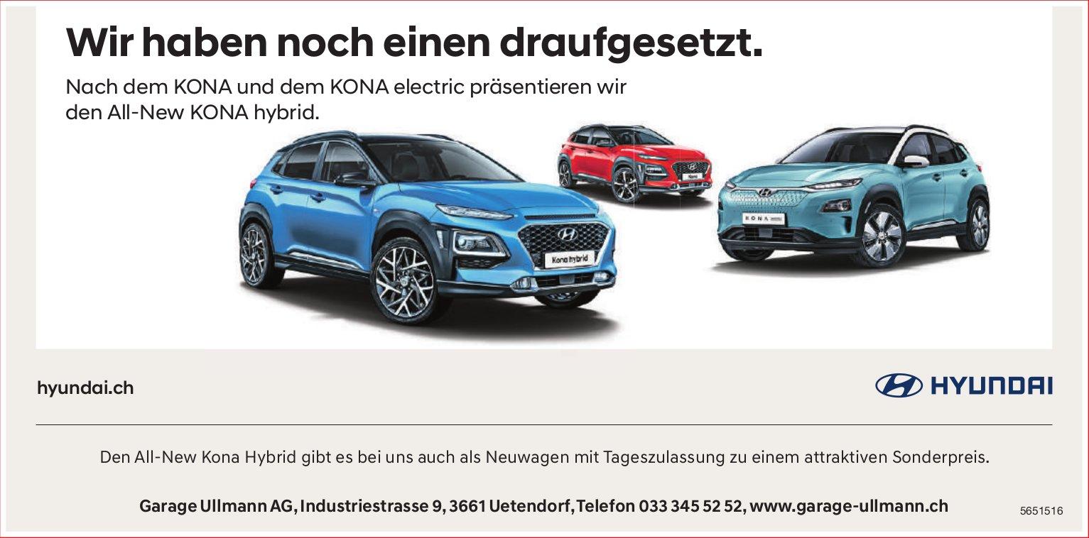 Garage Ullmann AG, Uetendorf - Wir haben noch einen draufgesetzt.