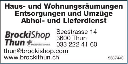 BrockiShop Thun - Haus- und Wohnungsräumungen