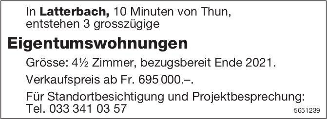 Eigentumswohnungen, Latterbach, zu verkaufen