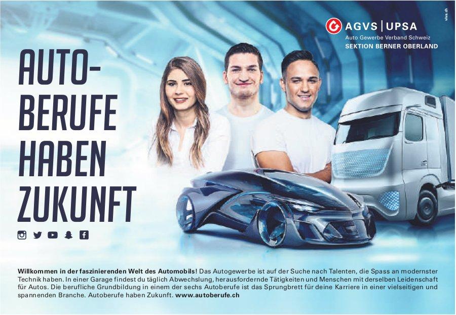 AGVS/UPSA, Auto- Berufe haben Zukunft