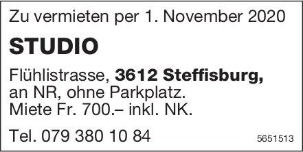 Studio, Steffisburg, zu vermieten