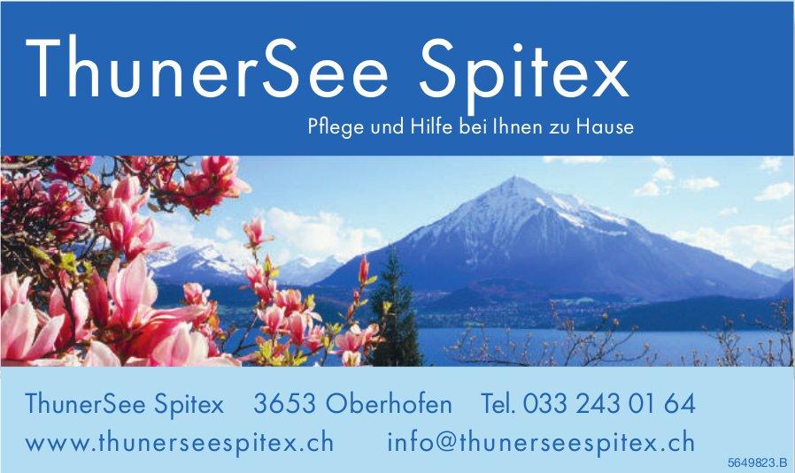 ThunerSee Spitex, Oberhofen - Pflege und Hilfe bei Ihnen zu Hause
