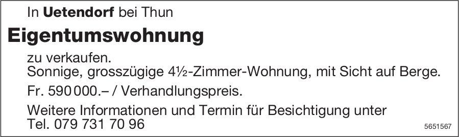 Eigentumswohnung, 4½ Zimmer-Wohnung, Thun, zu verkaufen