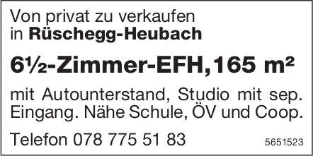 6½-Zimmer-EFH,165 m² in Rüschegg-Heubach von privat zu verkaufen