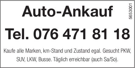 Auto-Ankauf