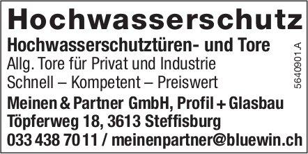 Meinen & Partner GmbH, Steffisburg - Hochwasserschutz