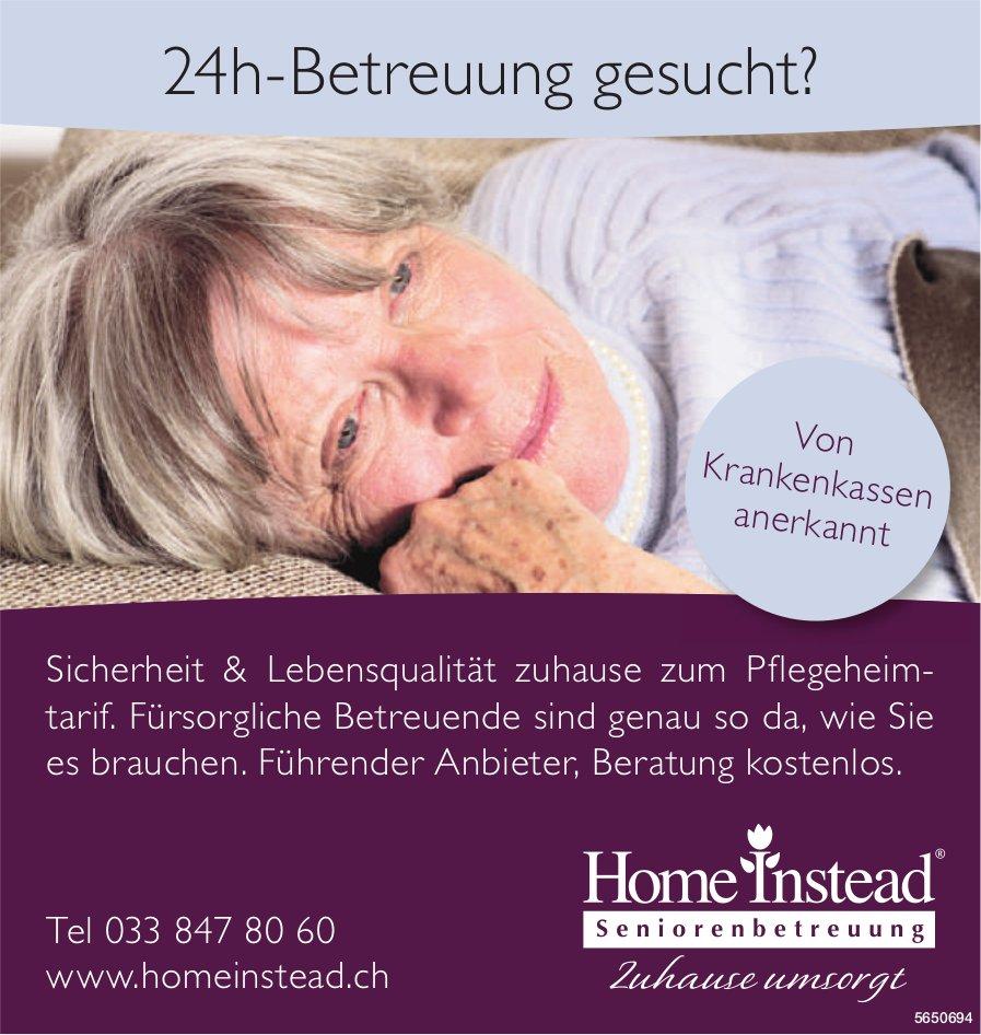 Home Instead Seniorenbetreuung - 24h-Betreuung gesucht?