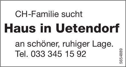 Haus in Uetendorf, zu kaufen gesucht