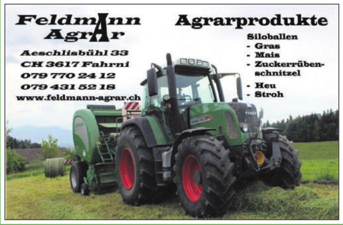 Feldmann Agrar, Fahrni - Agrarprodukte