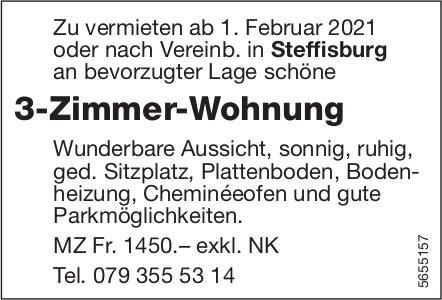 3-Zimmer-Wohnung, Steffisburg, zu vermieten