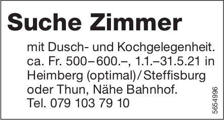 Suche Zimmer, Heimberg, zu verkaufen