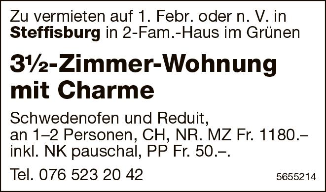 3½-Zimmer-Wohnung mit Charme, Steffisburg, zu vermieten