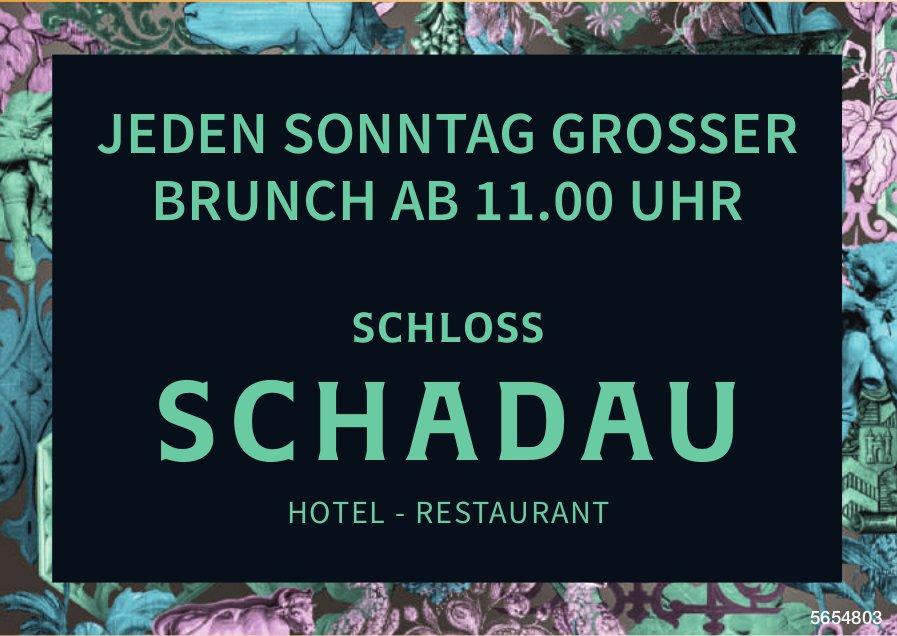 Schloss Schadau - Jeden Sonntag grosser Brunch Ab 11.00 Uhr