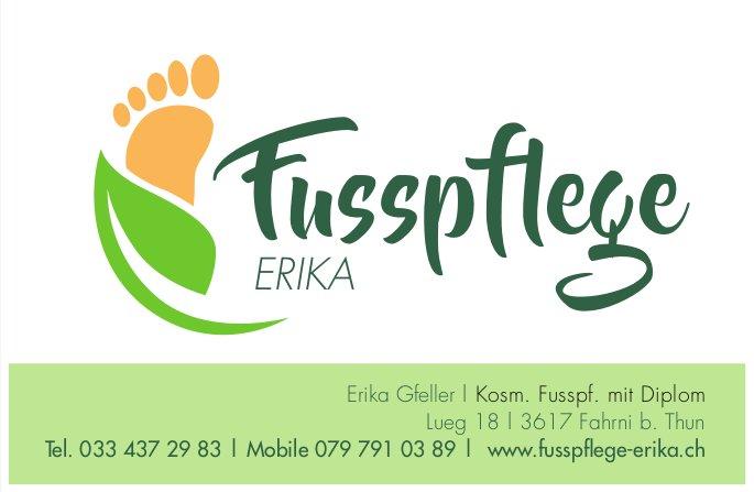 Fusspflege Erika, Fahrni b. Thun