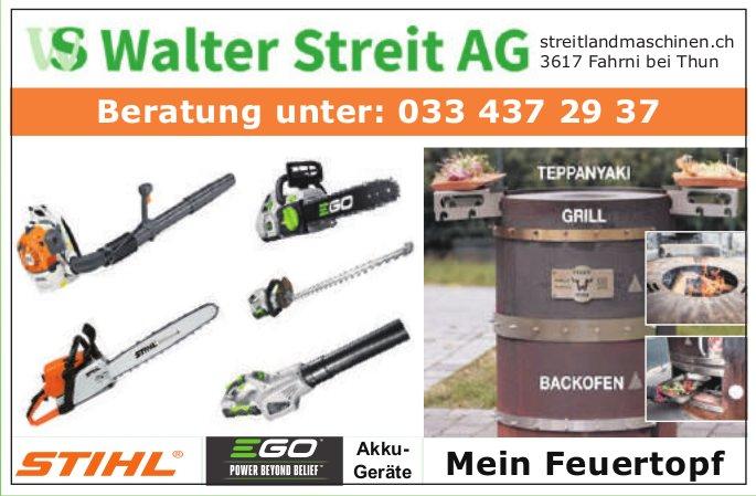 Walter Streit AG, Fahrni - Mein Feuertopf