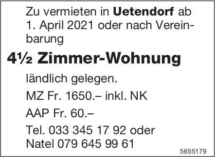 4½ Zimmer-Wohnung, Uetendorf, zu vermieten