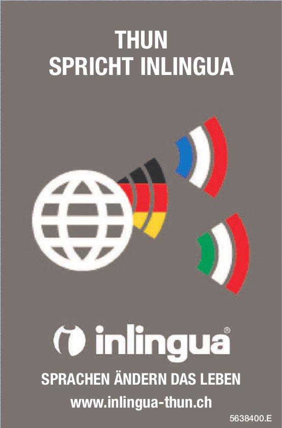 Inlingua Thun - Thun spricht Inlingua