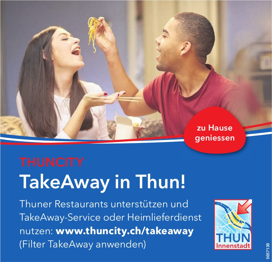 Thuncity - TakeAway in Thun!