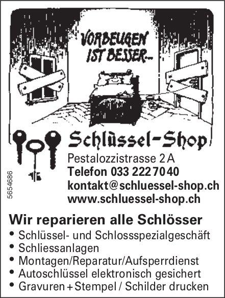 Schlüssel Shop - Wir reparieren alle Schlösser