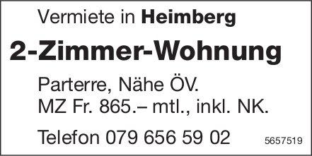 2-Zimmer-Wohnung, Heimberg, zu vermieten