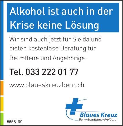 Blaues Kreuz - Alkohol ist auch in der Krise keine Lösung