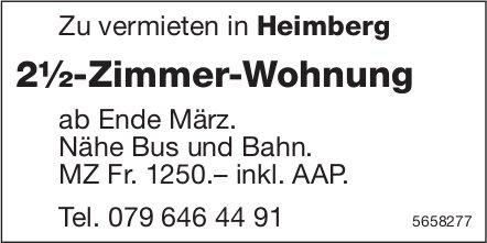 2½-Zimmer-Wohnung, Heimberg, zu vermieten