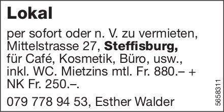 Lokal, Steffisburg, zu vermieten
