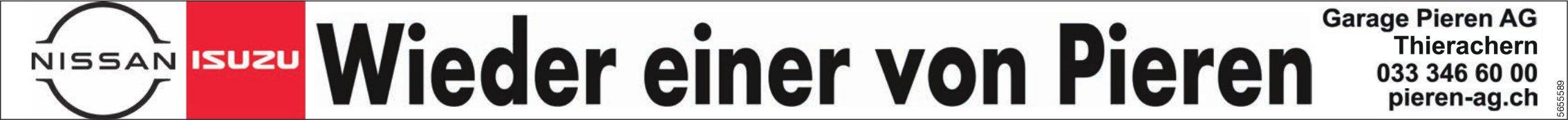 Garage Pieren AG, Thierachern - Wieder einer von Pieren