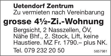 Grosse 4½-Zi.-Wohnung, Uetendorf Zentrum, zu vermieten