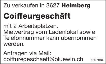 Coiffeurgeschäft, Heimberg, zu verkaufen