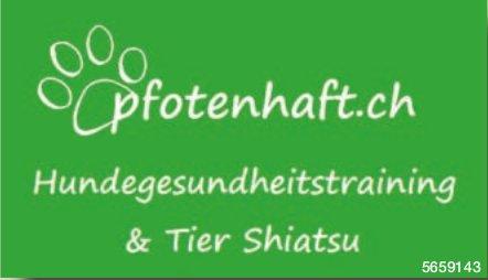 Pfotenhaft.ch, Hundegesundheitstraining & Tier Shiatsu