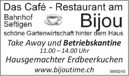 Cafe - Restaurant am Bijou - Take Away und Betriebskantine