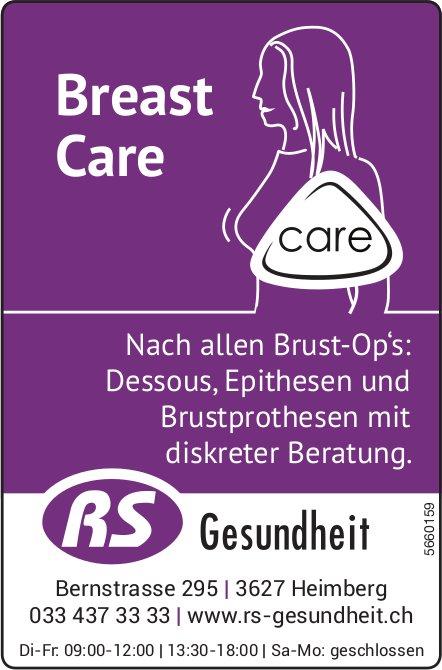 RS Gesundheit, Heimberg - Breast Care