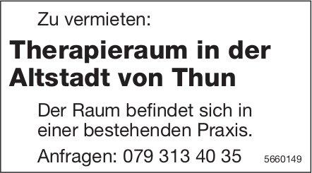 Therapieraum in der Altstadt von Thun, zu vermieten