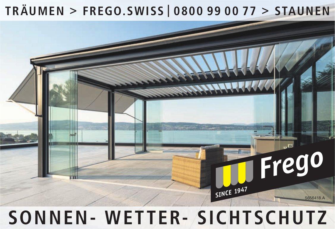 Frego - Sonnen-Wetter-Sichtschutz