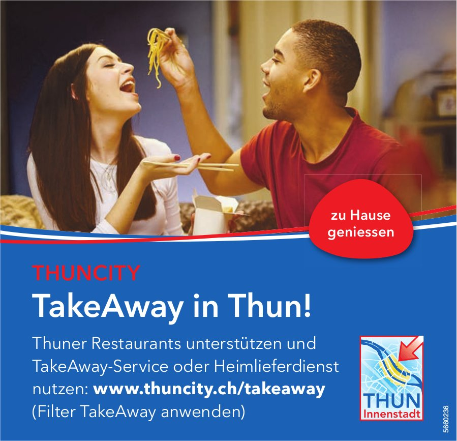 Thuncity, TakeAway in Thun!