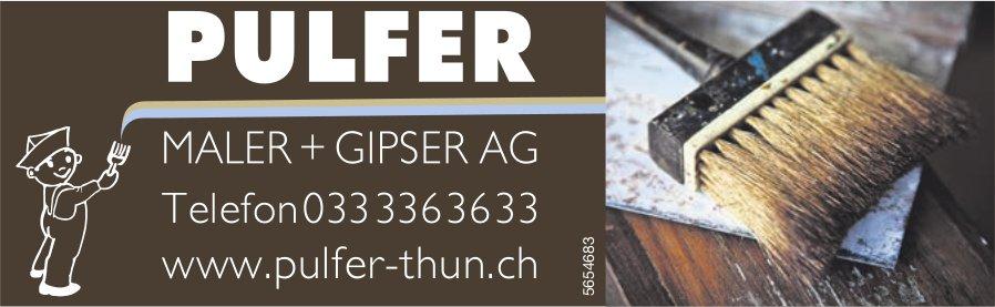 Pulfer, Thun - Maler + Gipser AG
