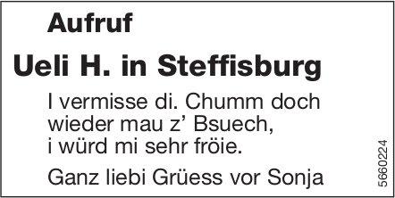 Aufruf Ueli H. in Steffisburg