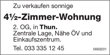 4½-Zimmer-Wohnung, Thun, zu verkaufen