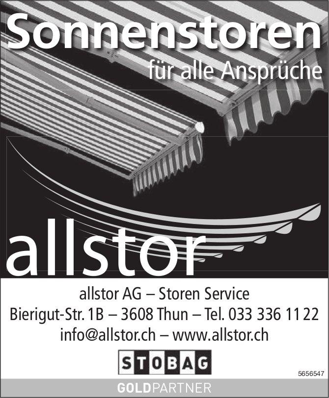 Allstor AG, Thun - Sonnenstoren für alle Ansprüche
