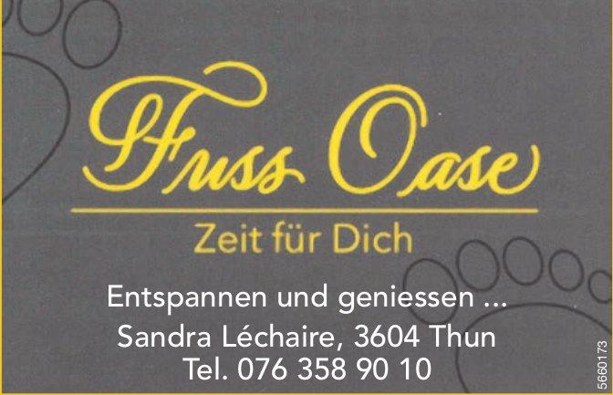 Fuss Oase, Thun - Entspannen und geniessen ...