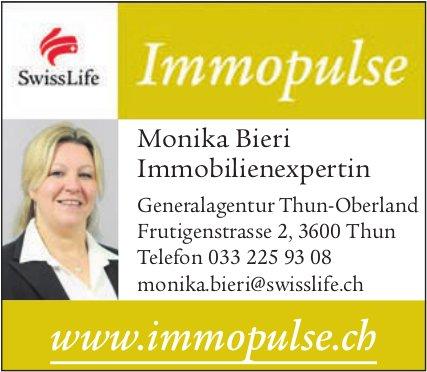 Monika Bieri, SwissLife,  Immobilienexpertin, Thun - Immopulse