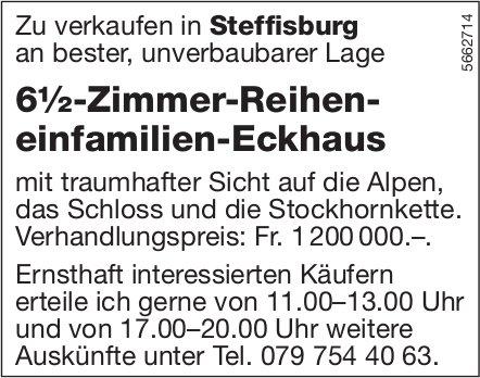 6½-Zimmer-Reiheneinfamilien-Eckhaus, Steffisburg, zu verkaufen