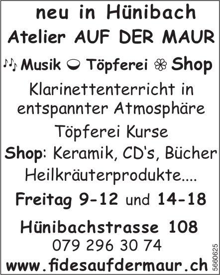 Atelier Auf Der Maur - neu in Hünibach