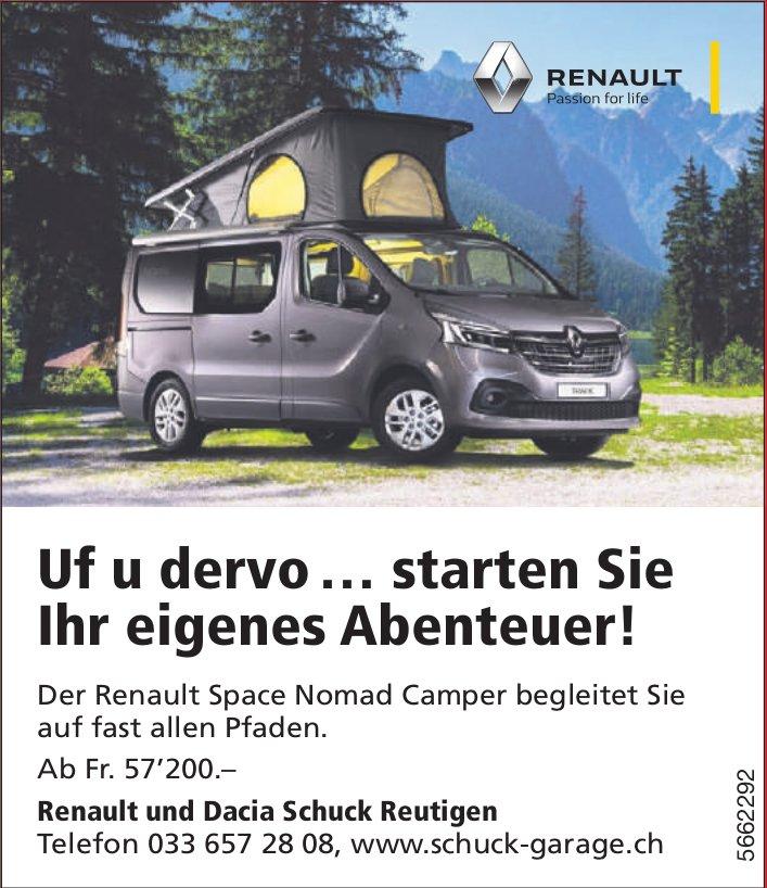 Schuck Garage, Reutigen - Uf u dervo … starten Sie Ihr eigenes Abenteuer!